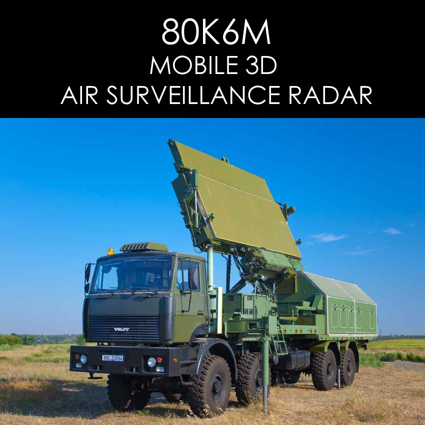 80K6M 3D, AIR SURVEILLANCE RADAR
